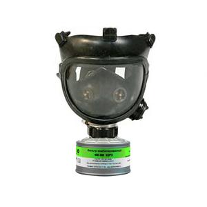 Противогаз ППФ-5М с фильтром ФК-5М марки К2Р3 (с ПМ-88)