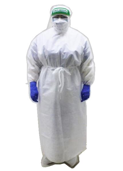 Комплект одежды защитной из нетканых материалов (противочумный костюм)