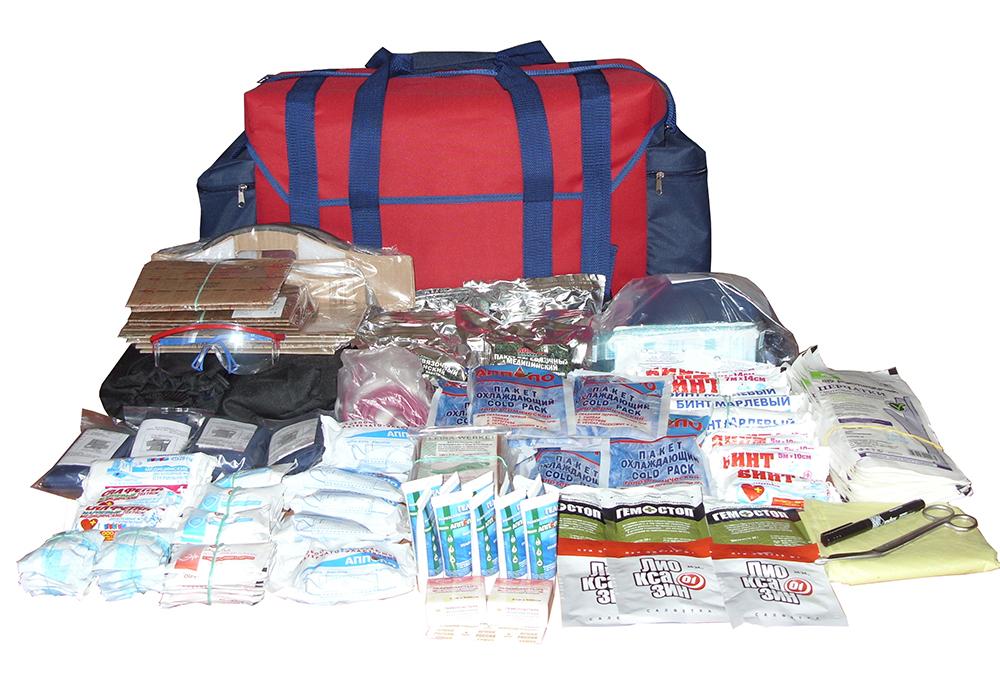 Комплект медицинских изделий для защитных сооружений  гражданской обороны (на 20 человек)