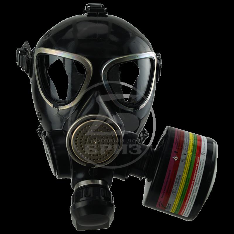 Противогаз гражданский ГП-7Б (Бриз)